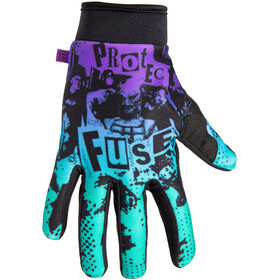 FUSE Chroma Shred Gloves purple/teal fade